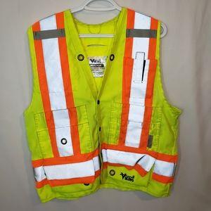 Viking reflective work vest workers safety vest M